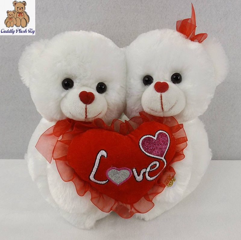 valentine plush teddy bears