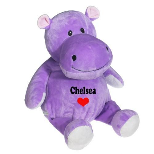 Valentine Plush Hippo Toys Gifts