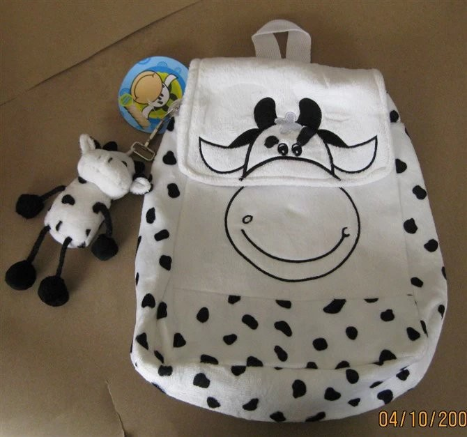 Cow Plush Stuffed Animal Backpack