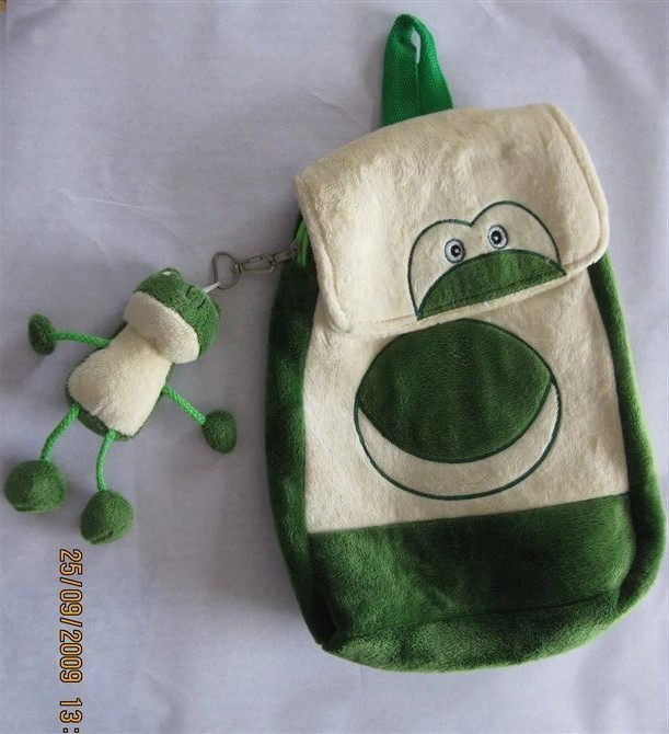 Cute Frog Plush Animals Backpack