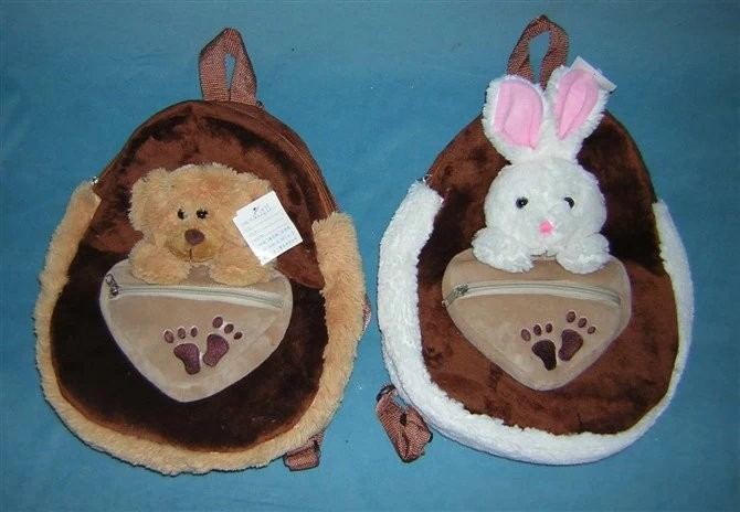 Rabbit Plush Stuffed Animal Backpack