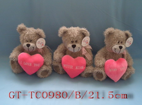 Lovely Valentine Plush Bears