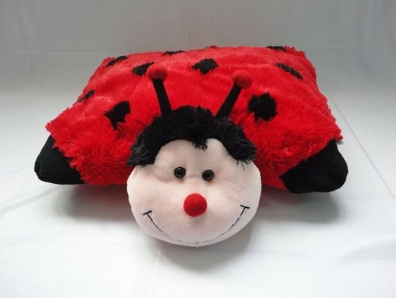 Plush Ladybug Cushion