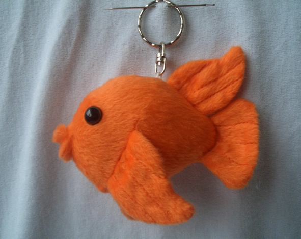 Plush Fish Key Chain Toys