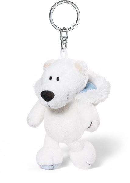 Plush Polar Bear Keyring