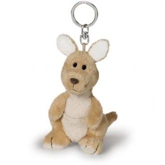 Cute Kangaroon Plush Keyring