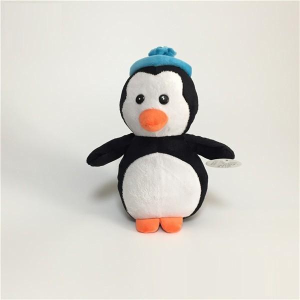 Soft Plush Penguin with Hat Xmas Toys