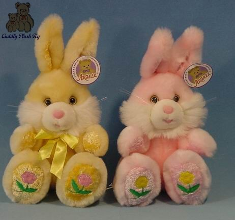 Plush Bunny for Easter