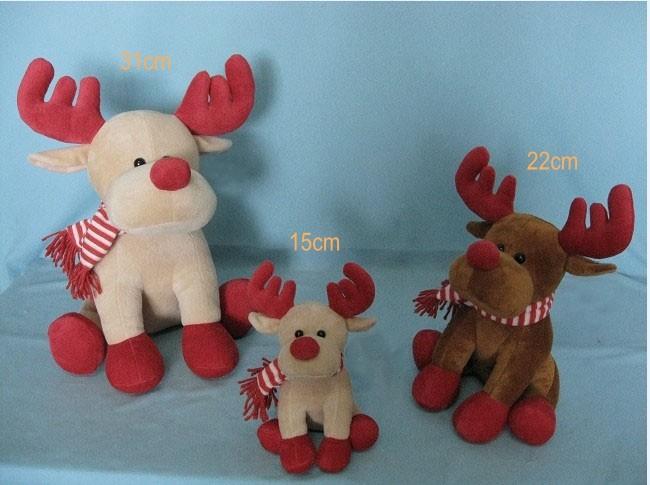 Christmas Plush Deer Toys