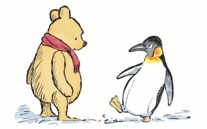 winnie the pooh penguin