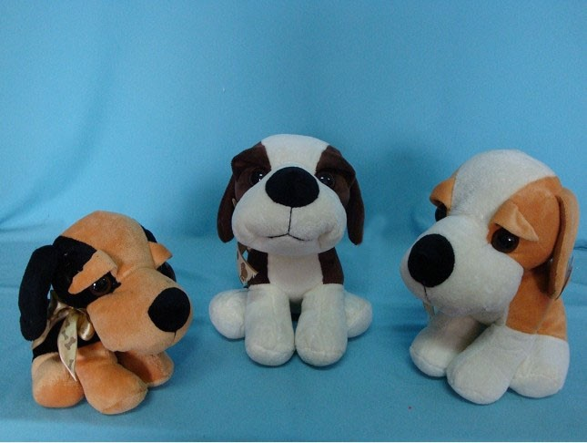 Big Eyes Plush Dog Toys