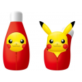 New Pikachu stuffed toys back in a ketchup bottle