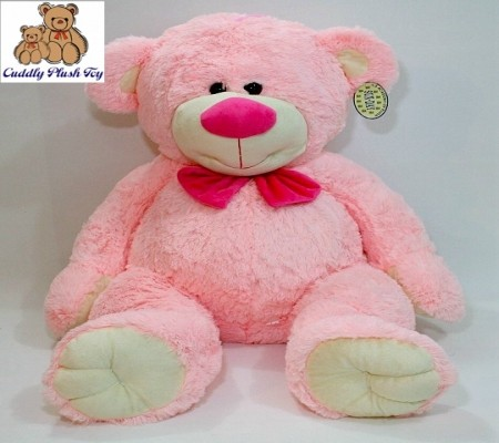 Pink Color Baby Soft Plush Teddy Bear