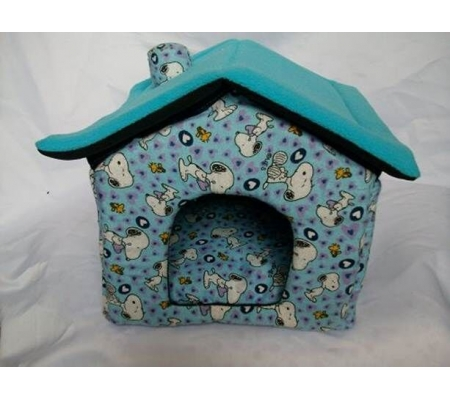 Plush Pet House for Guinea pig with Snoopy design