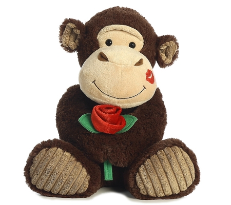 Valentines Day Gifts Plush Monkey toys