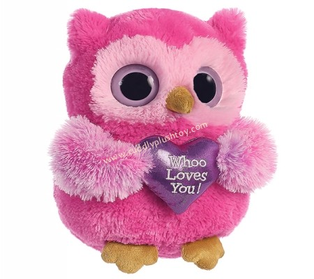 Plush Owls Toys Valentines Day Gifts for Her