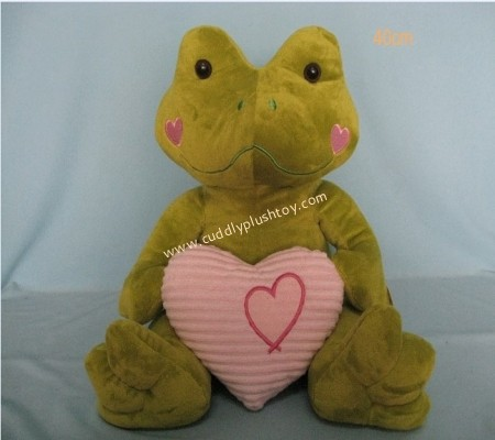 Valentine Stuffed Frog Toys