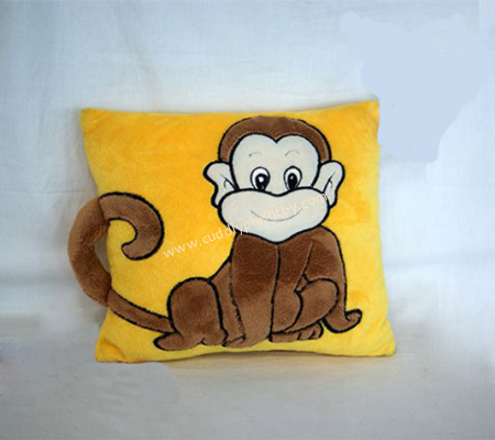 Plush Monkey Toys Cushion