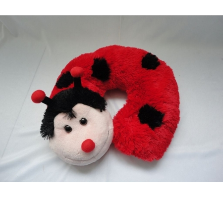 Lovely Ladybug Plush Pillow