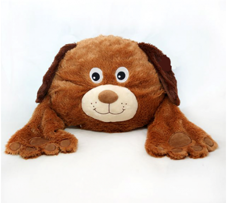 Plush Dog Cushion