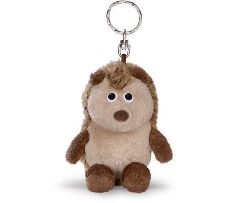 Plush Hedgehog Keyring