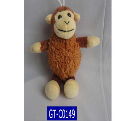 Plush Monkey Keychain Toys