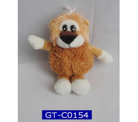 Plush Lion Keychain Toys
