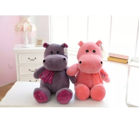 Soft Cute Hippo Toys for Kids