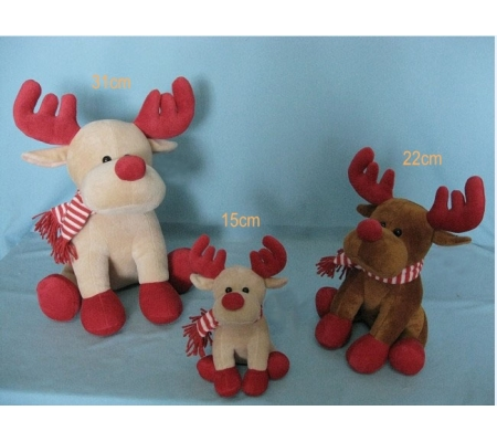 Christmas Plush Deer Toys