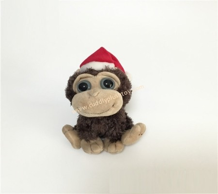 Christmas Plush Monkey Toy