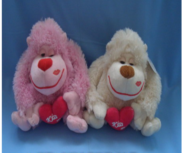 Valentine Stuffed Dog Toys