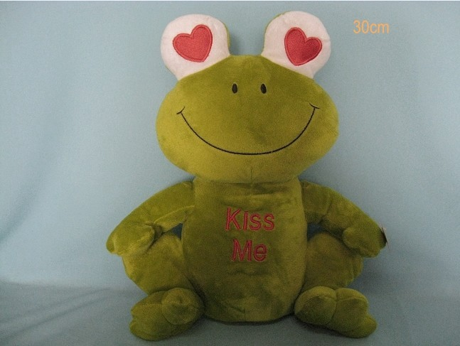 Valentine Plush Frog With Heart